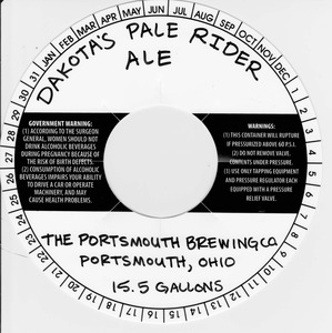 The Portsmouth Brewing Co. Dakota's Pale Rider