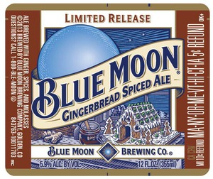 Blue Moon Gingerbread Spiced