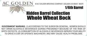 Hidden Barrel Collection Whole Wheat