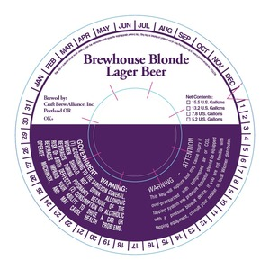 Craft Brew Alliance, Inc. Brewhouse Blonde