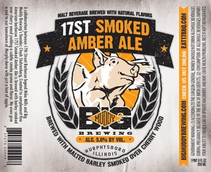 Big Muddy Brewing 17st Smoked Amber