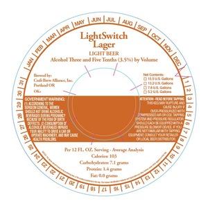 Craft Brew Alliance, Inc. Light Switch