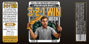 Full Pint Brewing Company 3-2-1 Win