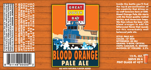 Great South Bay Brewery Blood Orange Pale Ale