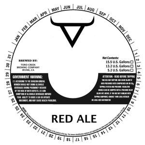 Toro Creek Brewing Company Red