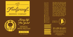 Foolproof Brewing Company King Of The Yahd
