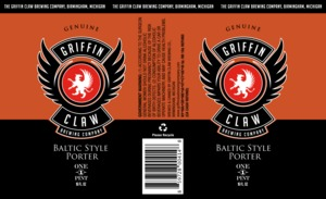 Griffin Claw Brewing Company Baltic Style