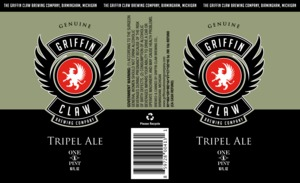 Griffin Claw Brewing Company Tripel
