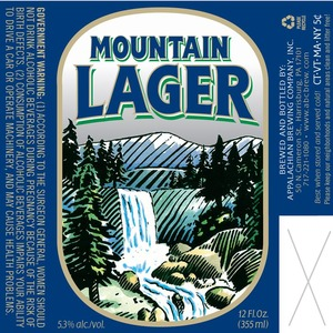 Appalachain Brewing Co Mountain Lager