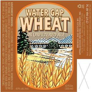 Appalachian Brewing Co Water Gap Wheat