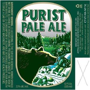 Appalachian Brewing Co Purist Pale Ale