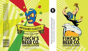 Finch's Beer Company Awesome Cabeza