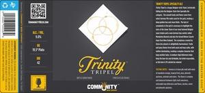 Community Beer Company Trinity Tripel