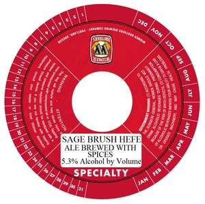 Widmer Brothers Brewing Company Sage Brush Hefe