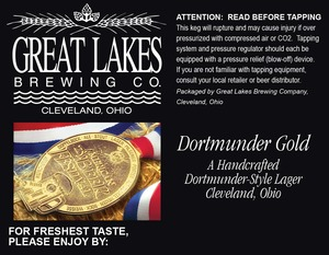 The Great Lakes Brewing Co. Dortmunder Gold