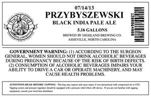 Highland Brewing Co Przybyszewski