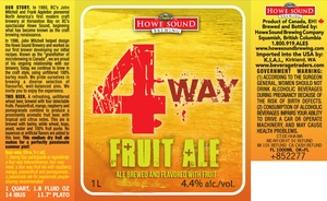 Howe Sound 4-way Fruit