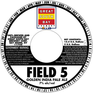 Great South Bay Brewery Field 5 Golden