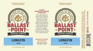 Ballast Point Brewing Co. Longfin