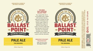 Ballast Point Brewing Co. Pale Ale