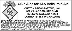 Cb's Ales For Als