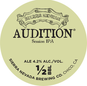 Sierra Nevada Audition Session IPA