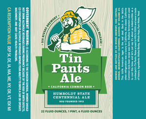 Six Rivers Brewery Tin Pants