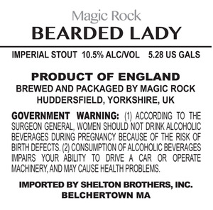 Magic Rock Bearded Lady