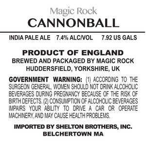 Magic Rock Cannonball