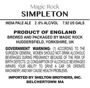 Magic Rock Simpleton