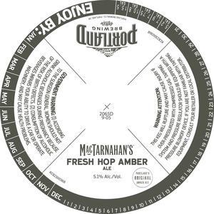 Portland Brewing Fresh Hop Amber Ale