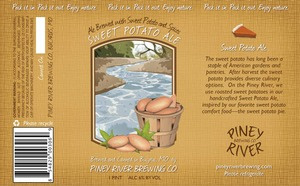 Piney River Brewing Co. LLC Sweet Potato Ale