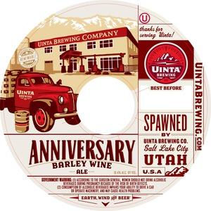 Uinta Brewing Company Anniversary Barley Wine Ale