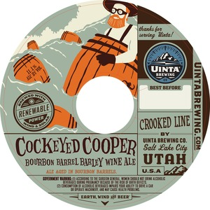 Uinta Brewing Company Cockeyed Cooper
