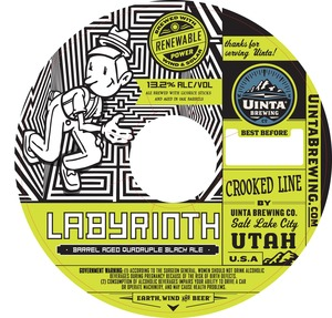 Uinta Brewing Company Labyrinth