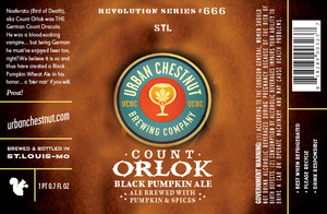 Count Orlok Black Pumpkin Ale