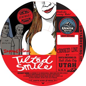 Uinta Brewing Company Tilted Smile