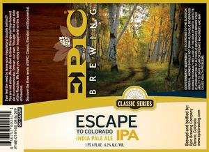 Epic Brewing Company Escape To Colorado