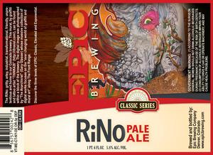 Epic Brewing Company Rino