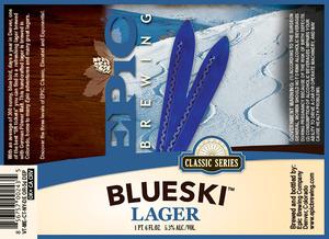 Epic Brewing Company Blueski