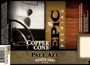 Epic Brewing Company Copper Cone