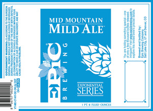 Epic Brewing Company Mid Mountain