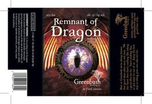 Greenbush Brewing Co. Remnant Of Dragon