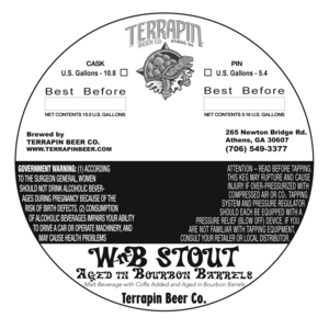 Terrapin Wnb Stout Aged In Bourbon Barrels