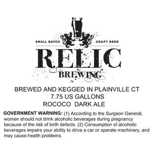 Relic Brewing Rococo