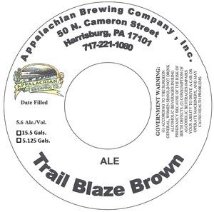Appalachian Brewing Co Trail Blaze Brown