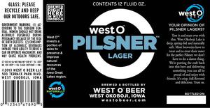 West O Pilsner