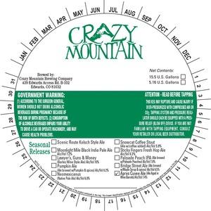 Crazy Mountain Apres Cuvee