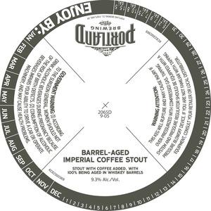 Portland Brewing Barrel Aged Imperial Coffee Stout