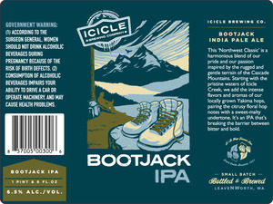 Icicle Brewing Company Bootjack IPA